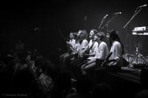 Dan San en mode Release Party au Cirque Royal - crédit photo : Cristel Rochet