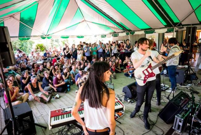 Dan San en tournée au Québec - source : facebook